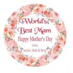 Mother's Day Flower Plaque 2